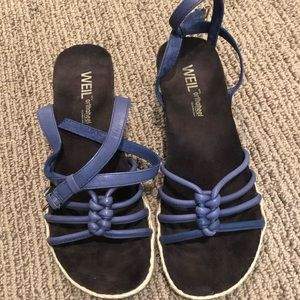 Weil Orthoheel sandals